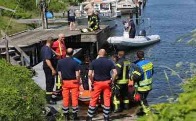 Feuerwehr birgt Leiche aus Flensburger Förde: Möglicherweise Vermisster eines Bootsunglücks gefunden: Boot war vor gut sechs Wochen gekentert - Ein weiterer Insasse bereits verstorben - Möglicherweise vermisstes Opfer nun aufgefunden