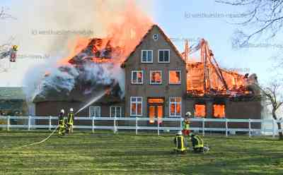 Historisher Reetdachhof